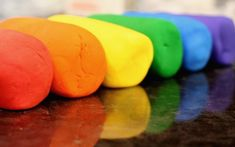 Whether you have tried soda dough and love it, or are just starting out, this rainbow soda dough recipe is perfect making simple self-drying modeling clay.