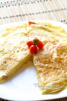 Frittata de Batata e Bacon, para um almoço com muito sabor. Clique na imagem para ver a receita no blog Manga com Pimenta.