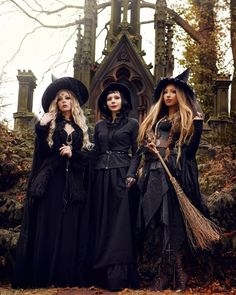Dark Beauty, Witches Costumes For Women, Ghost Costumes, Steampunk Witch, Witch Photos, Witch Coven, Hallowen Costume, Cute Witch Costume, Vintage Witch Costume