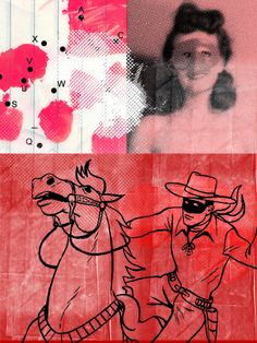 A Collage A Day: Dialects Of Desire: The Party. Randel Plowman