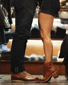 Red Wing Shoes Owners Club | outlinedcloth:   Couples that Red Wing together,...