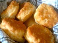Just like KFC Biscuits!  1 1/2 c flour 1 1/2 tsp salt 1 tbsp sugar 1 tbsp baking powder 2/3 c milk 1/3 c shortening