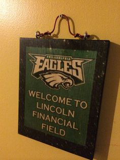 Philadelphia Eagles Football Stadium Game Room by nostalgiasigns