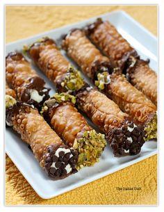 Homemade Sicilian pastry desserts
