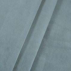 Bella Velvet Cornflower Blue Fabric