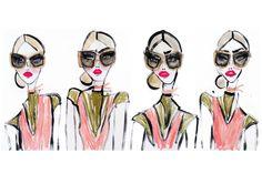 Ilustrações para o Prada Raw Avenue - Prada convida time de ilustradores  para projeto criativo dos f51c75d516