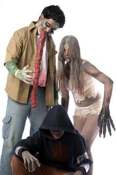 Left 4 Dead Infected groups cosplays <3