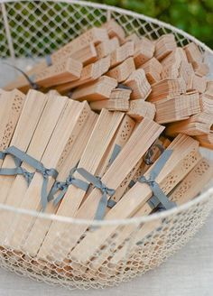8 Fun Summer Wedding Favor Ideas