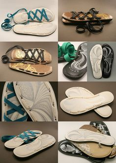 DIY Sandal idea again