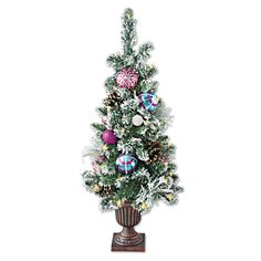 Frosted Holiday Tree, Solutions #SolutionsPinIt