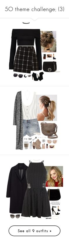 """5O theme challenge; (3)"" by somethinglikelove ❤ liked on Polyvore featuring Boohoo, Vanessa Mooney, Chanel, Halston Heritage, Gabriela Artigas, Satomi Kawakita, rag & bone, American Eagle Outfitters, H&M and SONOMA Goods for Life"