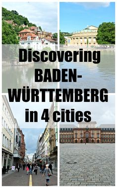An introduction to the cities of Mannheim, Karlsruhe, Tübingen and Stuttgart in the Baden-Württemberg region in Germany.