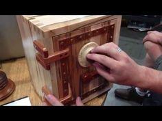 Wooden Combination Lock Mechanism - YouTube