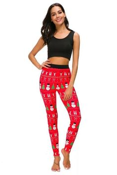 New Arrival Christmas Fashion Women Legging - Mix Colors e0b5b64ce6da