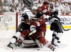 Lots of fights broke out as Phoenix goes down 2-0 to LA Kings in the Western Conference Stanley Cup Final 2012