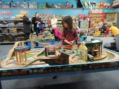 Family Fun Idea: Choo Choo Bob's Train Store & Storytimes!