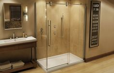 MECHANIX M1 Corner Shower Door by MAAX.