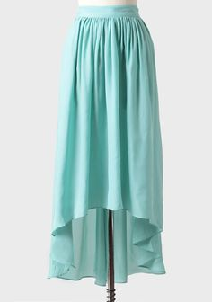 finally a high-low thats long enough in front :)Waves Of Spring High-low Skirt at #Ruche @shopruche