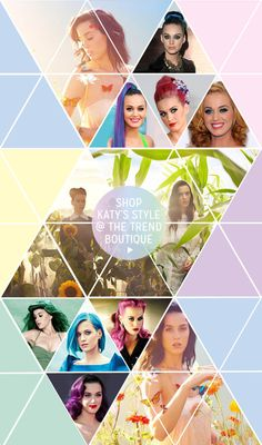 """Katy Perry's Hair """"PRISM"""" @ The Trend Boutique!"""