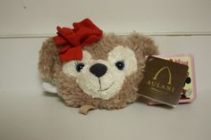 NEW RARE Shellie May Disney Aulani Duffy Bear HAWAII EXCLUSIVE Coin Purse