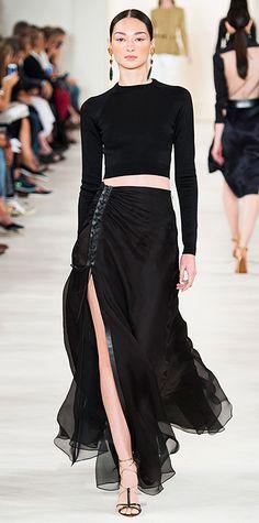Runway Looks We Love: New York Fashion Week - Spring/Summer 2015 - Ralph Lauren - #InStyle