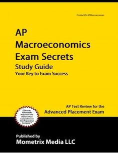 I need this book because I didn't study for Macroeconomics but I have to take AP exam on May. Ap Test, Exam Success, Ap Exams, Economic Systems, Economics, This Book, How To Apply, Study, Books