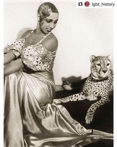 """#Repost @lgbt_history (@get_repost)  All my life I have maintained that the people of the world can learn to live together in peace if they are not brought up in prejudice.  Josephine Baker . Picture: Josephine Baker (June 3 1906 - April 12 1975) c. 1931. . Josephine Baker who was born one hundred and eleven years ago today and was also known as the """"Black Pearl"""" """"Jazz Cleopatra"""" and the """"Creole Goddess"""" was an American-born French dancer singer and actress who among many other things was…"""
