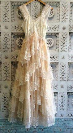 Vintage white dress
