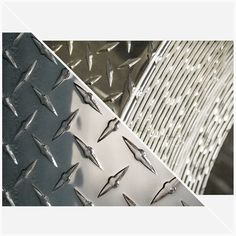 ".045 Aluminum Diamond Plate Sheet 6/"" x 12/"""