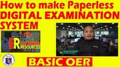 This is another Open Educational Resources (OER) video tutorial on how to make Paperless Digital Examination System. Say goodbye to your paper-used quiz/exam. Have Fun, Education, Digital, How To Make, Onderwijs, Learning