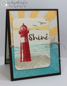 I used the Stampin' Up! High Tide stamp set from the upcoming 2017 Occasions Catalog to create my card for the Happy Stampers blog hop.  We've got a sketch challenge this week and here is the card …