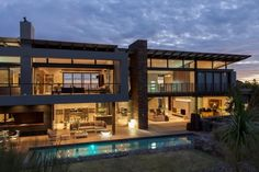 Nico van der Meulen Architects have designed House Duk, located in Johannesburg, South Africa.