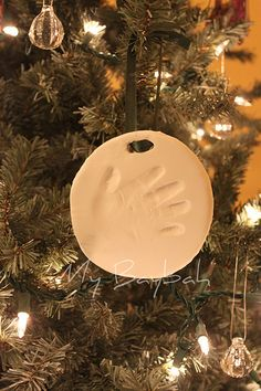 Handprint Wall Ornament or Wall Hanging