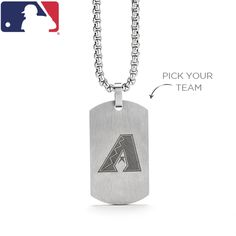 Classically finished in Brushed Stainless Steel, this sleek Origami Owl Tag can be personalized with his favorite MLB team logo. Let him sport his love for the game around his neck with the included Stainless Steel Cube Chain. GIFTS FOR DAD. Hit a home run and honor the man in your life this Father's Day.