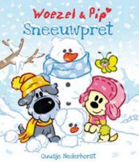 Woezel & Pip Sneeuwpret. Het is winter in de Tovertuin. Het is koud en glad buiten, maar er is nog geen sneeuw. Gelukkig weet de Wijze Varen raad en al snel is de hele Tovertuin wit. Nu kan de sneeuwpret echt beginnen!