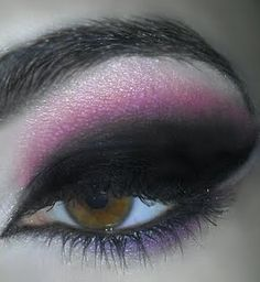 Pink & Black Smokey Eye