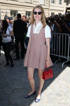 WHO: Natalia Vodianova WHAT: Dior WHERE: Christian Dior couture show WHEN: July 6, 2015