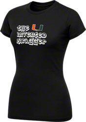 Miami Hurricanes Women's Black Shadow Swagger T-Shirt $17.99 http://www.shopmiamihurricanes.com/Miami-Hurricanes-Womens-Black-Shadow-Swagger-T-Shirt-_1271642616_PD.html?social=pinterest_pfid52-37466