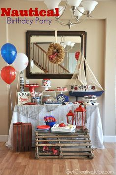 Nautical Lobster Party - Creative Juice