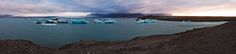 https://flic.kr/p/dxsNgf | Iceland | Here another shot in the morning at the famous glacierlagoon at the vatnajökull. In that area its distinctly colder than the surrounding area. I think we also had luck being the only people around at that time.