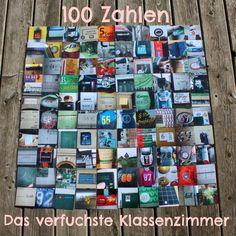 Es ist vollbracht!    Im Herbst habe ich euch schon meine 100 Hausnummern  präsentiert. Dabei ist die Idee entstanden 100 Zahlen aus dem ...