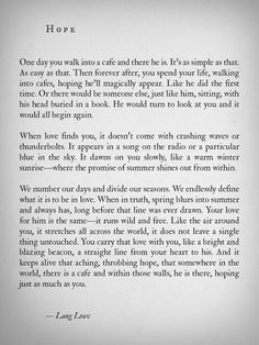 love popular quotes lit writing new hope prose poetry spilled ink lang leav