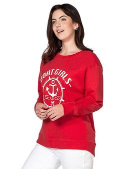 Sweatshirt – rot