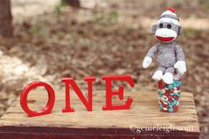Sock Monkey Birthday Party » Genie Leigh Photography