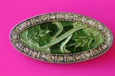 French vintage brooch / Pierre Bex style / art deco by BOULOTDODO via www.boulotdodo.com