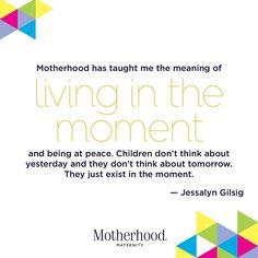 Momspiration Monday // Jessalyn Gillsig   Quotes about motherhood