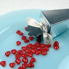 Mini Hearts Wedding Favor Candy by Beau-coup
