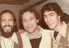My friend to the right Saul Marambio with Ruben Blades in the middle in 1983 Caribbean, Salsa, Native American, Novels, Middle, African, History, Couple Photos, Books