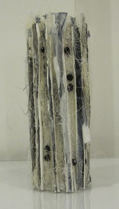 Cacti vessels   Marian Jazmik Textile Sculpture, Textile Fiber Art, Soft Sculpture, Sculptures, 3d Quilts, Ceramic Wall Art, Concrete Art, Texture Art, Fabric Art