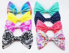 these bows are perf  there is so much colors and patterns i need them all!!